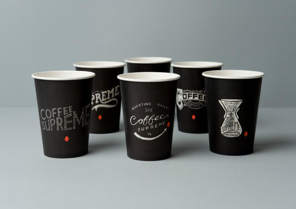 Sablon Paper Cup Hot dan Cold